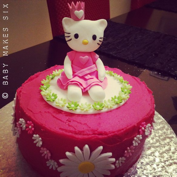 hello kitty princess cake | Baby Makes Six